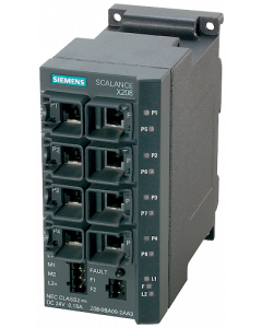 SCALANCE X208, managed IE Switch, 8