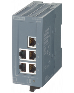 SCALANCE XB005 unmanaged Switch Industrial Ethernet para 10/100 Mbits/s